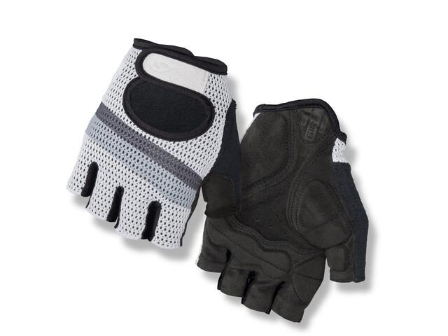 Giro Siv Gloves white titanium/stripe